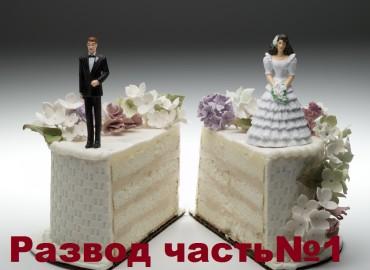 Развод часть№1