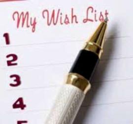 Список 10 желаний