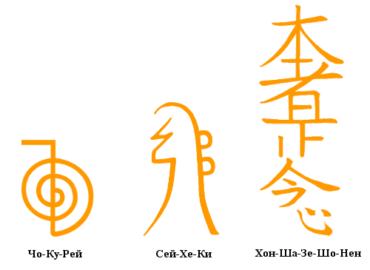 Символы рэйки для исполнения желаний