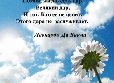 Процессинг «Жизнь есть дар — так воспользуйтесь им.»