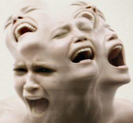 Эмоции гнева и страха в теле человека.
