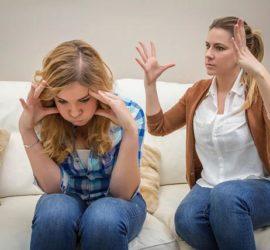 Ссоры с мамой очень портят настроение